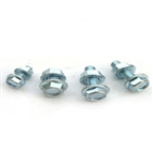 serration flange bolts with flange nuts